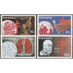 5x Rwanda 1982. Robert Koch...