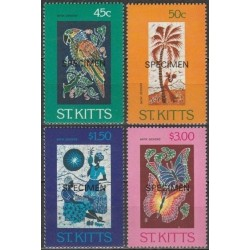 5x St. Kitts 1984....