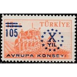 10x Turkija 1959. Europos...