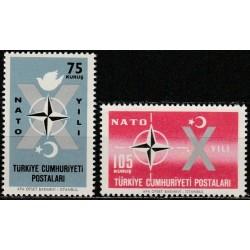 10x Turkey 1962. North...