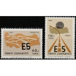 10x Turkija 1967. Kelių...