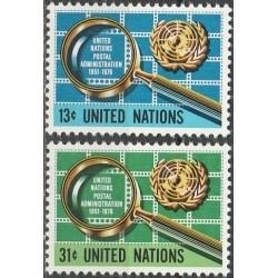 5x Jungtinės Tautos 1976....