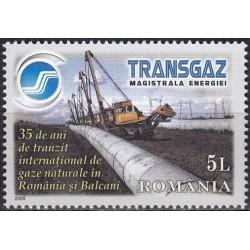 Rumunija 2009. Dujotiekis