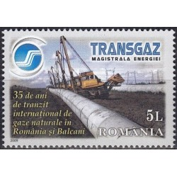 5x Romania 2009. Gas...