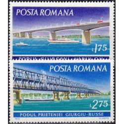 5x Rumunija 1972. Dunojaus...