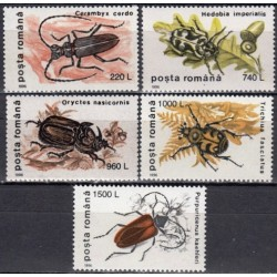 5x Romania 1996. Insects
