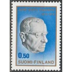 Suomija 1970. Prezidentas