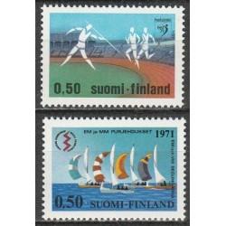 Suomija 1971. Sportas