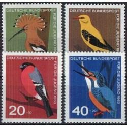 Vokietija 1963. Paukščiai
