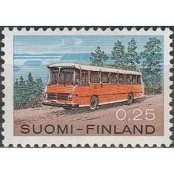 Suomija 1971. Autobusas