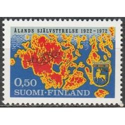 Suomija 1972. Alandų savivalda