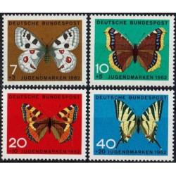 Germany 1962. Butterflies
