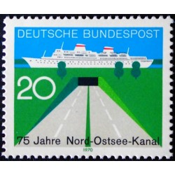Vokietija 1970. Kylio kanalas