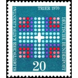 Germany 1970. Catholic Day