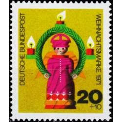 Germany 1971. Christmas