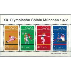 Vokietija 1972. Miuncheno...