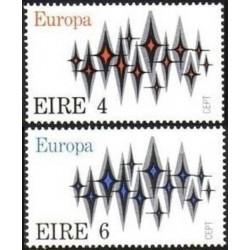 Airija 1972. Europa CEPT