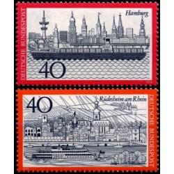 Vokietija 1973.  Hamburgas...