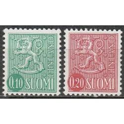 Suomija 1974. Herbai