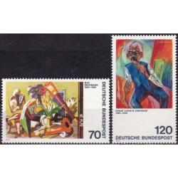 Germany 1974. Paintings (3)