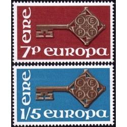 Ireland 1968. Key with CEPT...