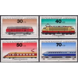Germany 1975. Locomotives
