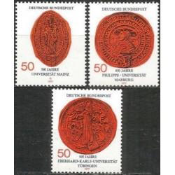 Vokietija 1977. Universitetai
