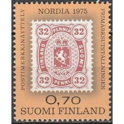 Finland 1975. Stamps on stamps