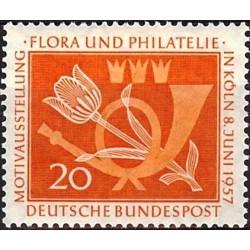 Vokietija 1957. Flora ir...