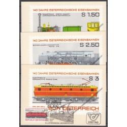 Austria 1977. Rail transport