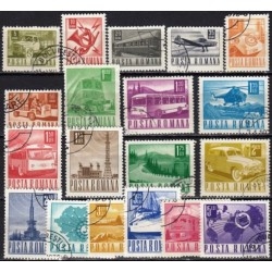 Romania 1967. Post and...