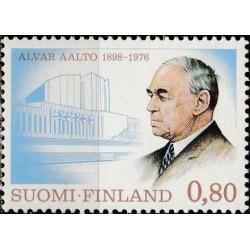 Suomija 1976. Architektas