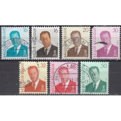 Belgium. Set of used stamps...