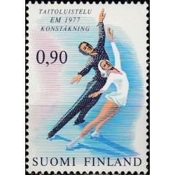 Finland 1977. Figure skating