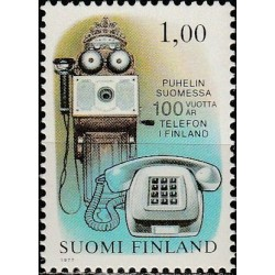 Suomija 1977. Telefonui 100...