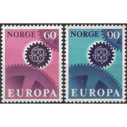 Norway 1967. CEPT: Cogwheel...