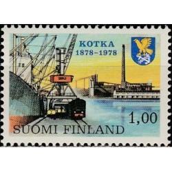 Suomija 1978. Miestui Kotka...