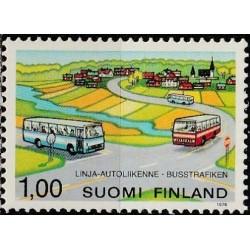 Suomija 1978. Autobusų...