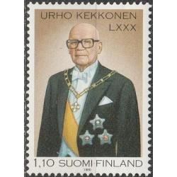 Suomija 1980. Prezidentas