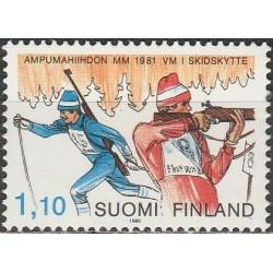 Suomija 1980. Biatlonas