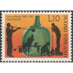Suomija 1981. Stiklo fabrikas