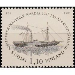 Finland 1981. Post ship