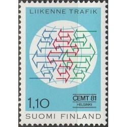 Finland 1981. EU Transport...
