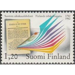 Finland 1982. Newspaper...