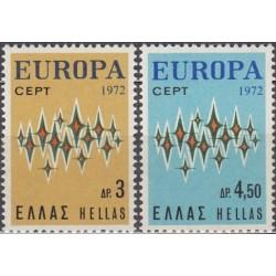 Greece 1972. Europa CEPT