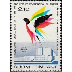 Finland 1985. Organization...