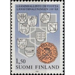 Finland 1985. Municipalities