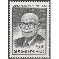 Finland 1986. President
