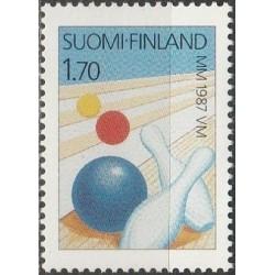Finland 1987. Bowling