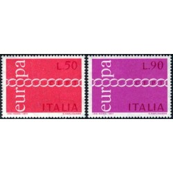 Italy 1971. CEPT: Stylised...